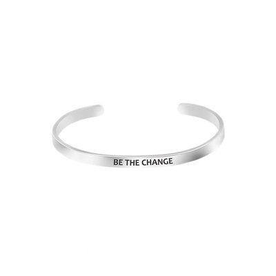 Mantra Bracelet Be the Change