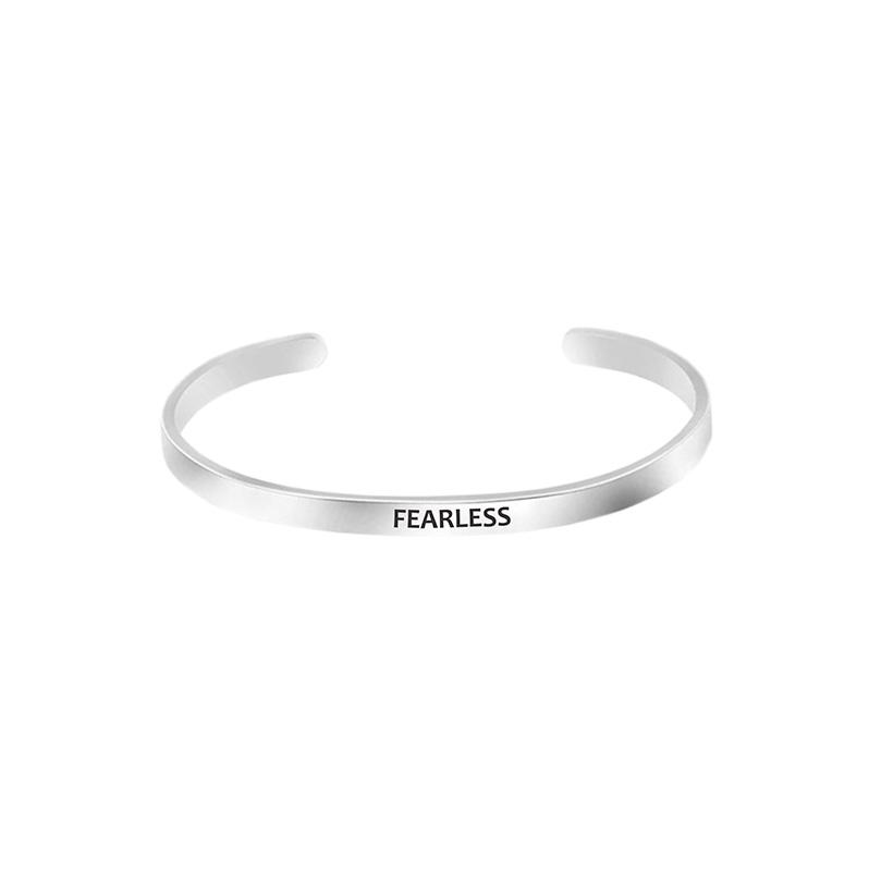 Mantra Bracelet - Fearless