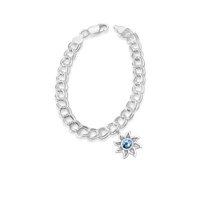 Colorado Collection Sunshine Charms with Sky Blue Swarovski Crystal