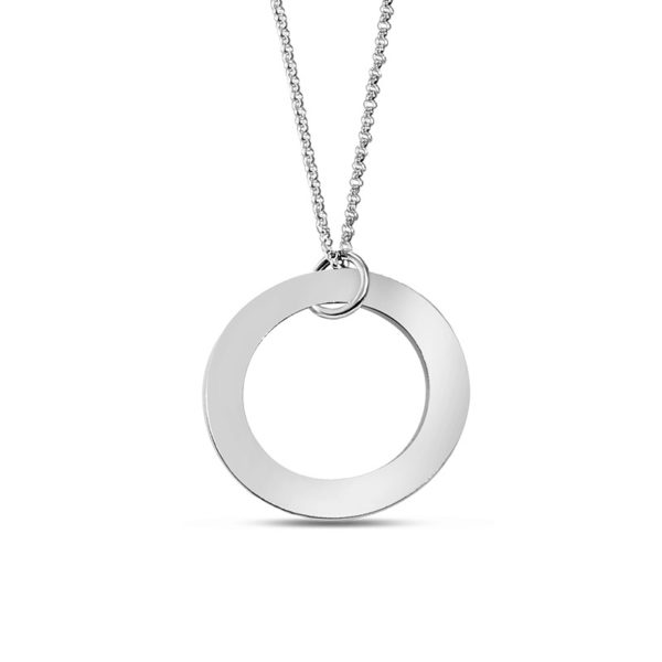 Customizable Open Disc Pendant-Blank to customize with your own design