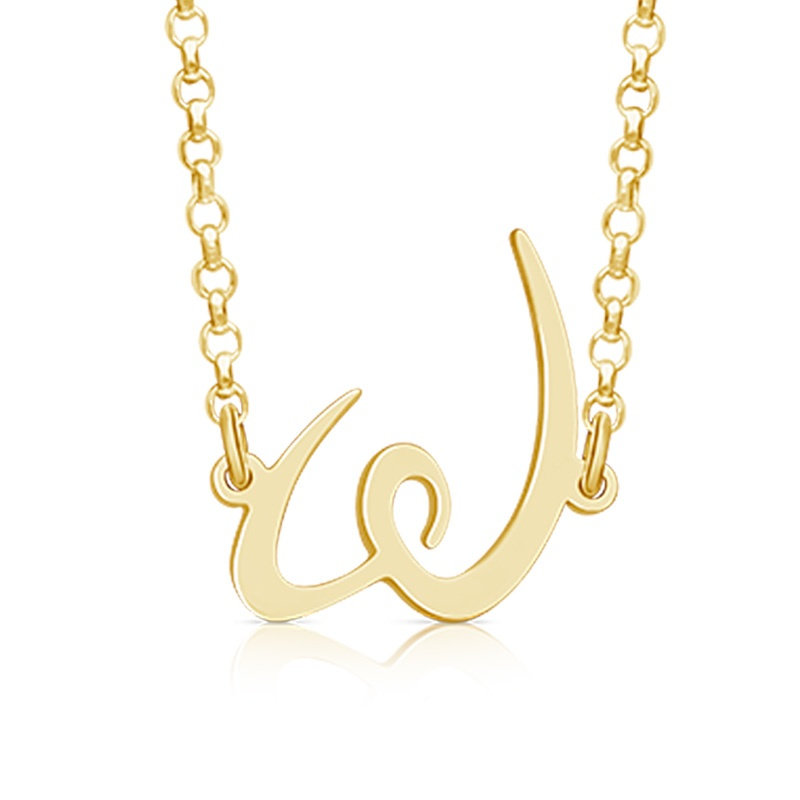 WomenGive Logo Pendant Gold to Support WomenGive scholarship program for single mothers in Larimer country