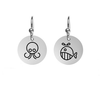 Customizable Disc Pendants Customized with YOUR own designs